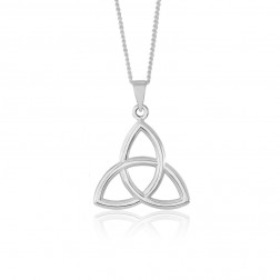 Trinity Celtic Knot in Sterling Silver