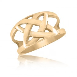 10K Yellow Gold Celtic Ring