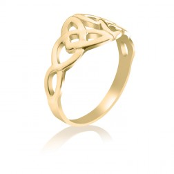 10K Yellow Gold Celtic Knot Ring