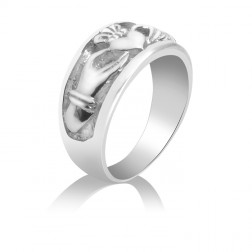 Claddagh Promise Ring – Wedding – Engagement – Love – Loyalty – Friendship – Sterling Silver
