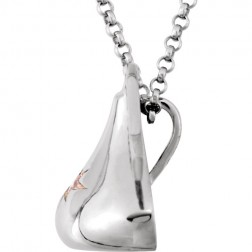 HERSHEY'S KISSES® Sterling Silver October Cubic Zirconia Pendant