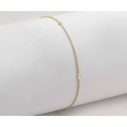Classic Beautiful Diamond Bracelet in 10K Yellow Gold