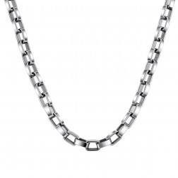 Rectangle Rolo Chain – Stainless Steel – Gift Idea – Fashion Chain