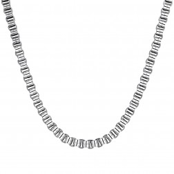 Stainless Steel Rolo Chain – 22 Inches – Squared - Stylish