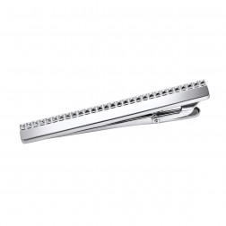 Modern Upscale High Polish Stainless Steel Tie Bar