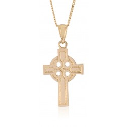 10K Yellow Gold Large Celtic Cross