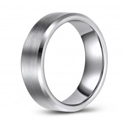 Classic Tungsten Wedding or Fashion Ring
