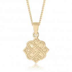 10K Yellow Gold Celtic Pendant