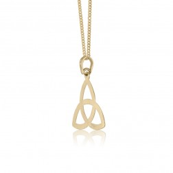 Trinity Celtic Knot in 10K Yellow Gold
