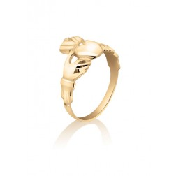 Claddagh Ring in 10K Yellow Gold