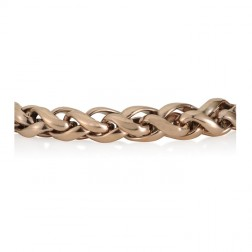 Steel Rose Gold Palma Bracelet