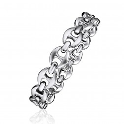 Mens Stainless Steel Gucci Style Bracelet