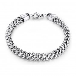 Ladies Stainless Steel Franco Bracelet