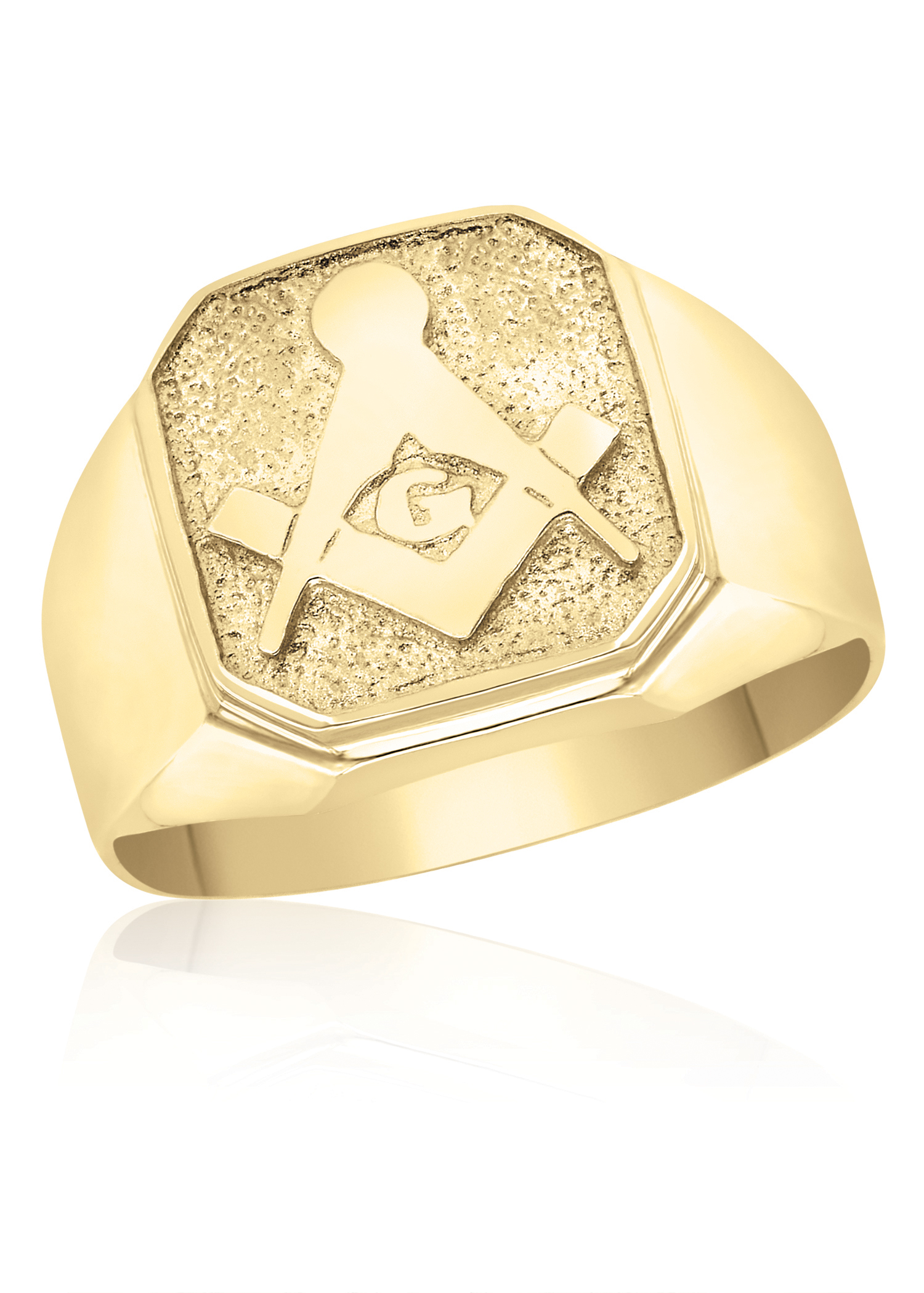 gold ring mens yellow l horse s ctw rings room size men property diamond